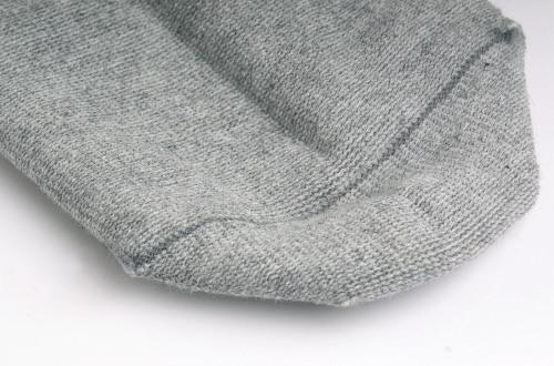 抗菌排汗麻灰色短踝襪(2雙入)