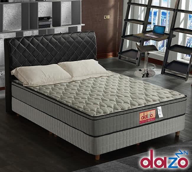 【Dazo得舒】三線3M防潑水高蓬度釋壓記憶膠(多支點獨立筒床墊-雙人5尺),床墊,獨立筒,FAMO,麵包床,雙人床墊,乳膠墊,保潔墊