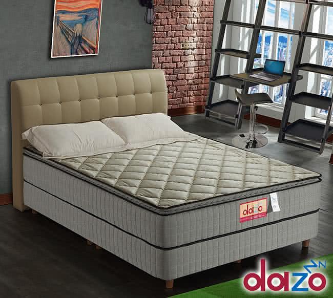 【Dazo得舒】三線乳膠機能獨立筒床墊-雙人5尺(多支點系列),床墊,獨立筒,FAMO,麵包床,雙人床墊,乳膠墊,保潔墊
