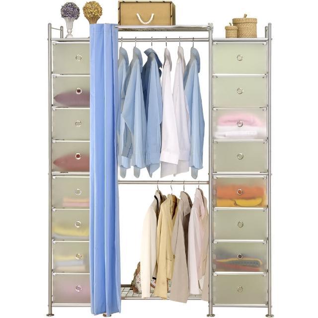 【巴塞隆納】W2+2D型60公分衣櫥櫃
