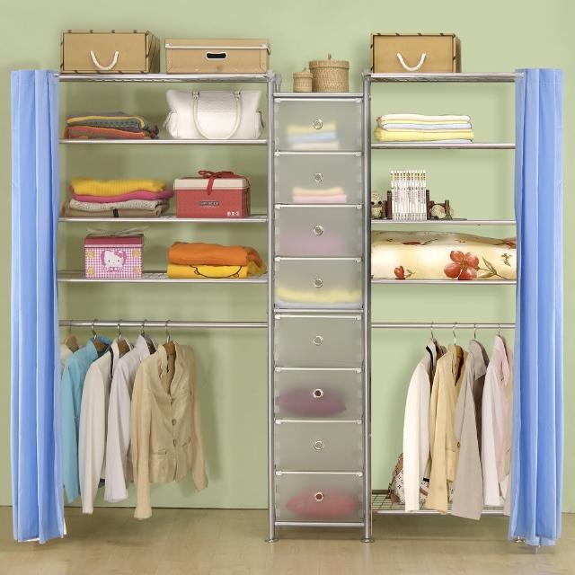 【巴塞隆納】W4型90+D+W5型60衣櫥置物櫃
