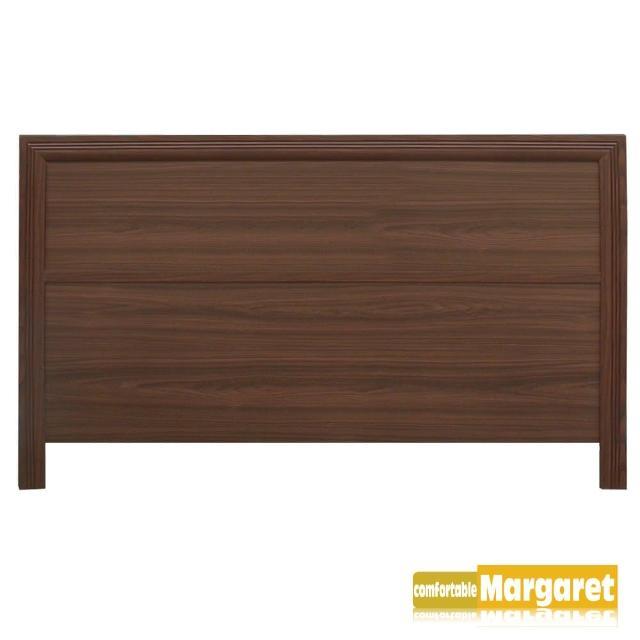 【Margaret】極簡條飾木質床頭片-加大6呎