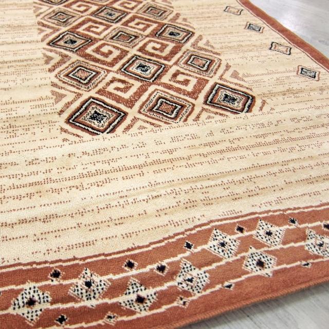 【范登伯格】薩斯狂野大地絲質地毯-木藤-共兩色(70x105cm)