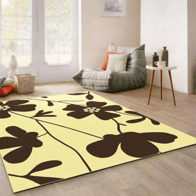 【范登伯格】奧斯汀光澤絲質感地毯-花仙子(140x200cm)