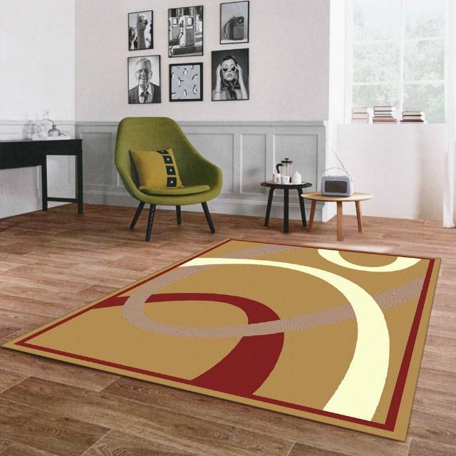 【范登伯格】奧斯汀光澤絲質感地毯-焦糖(140x200cm)