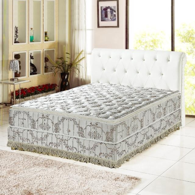 【睡芝寶 正三線RecoTex-Cool涼爽透氣 蜂巢式獨立筒床墊-雙人加大6尺】