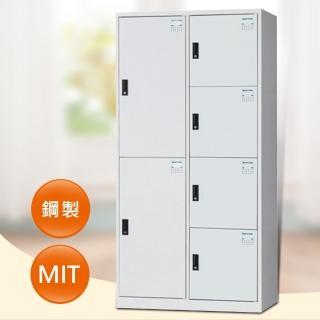 【時尚屋】HDF多用途3x6尺鋼製6格置物櫃(19-1)
