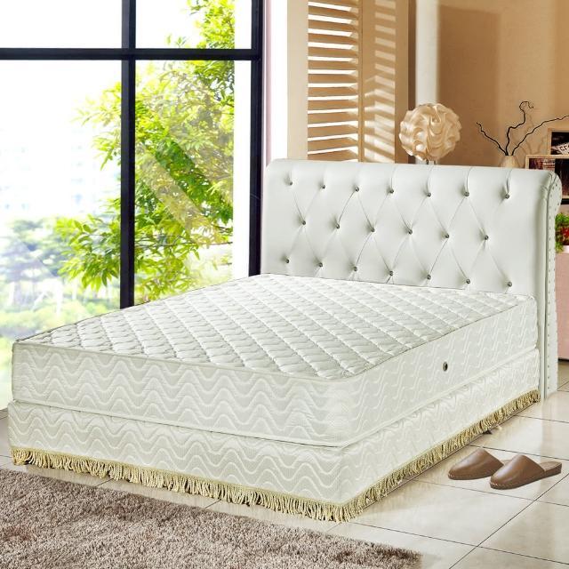【睡芝寶】飯店用防蹣抗菌蜂巢式獨立筒床墊(雙人)