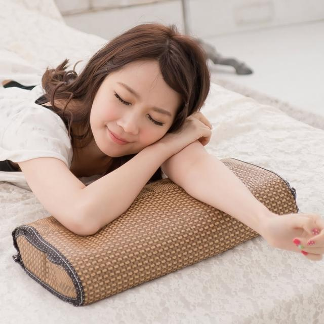 【eyah宜雅】雅藤清香茶葉枕-小型(2入組)