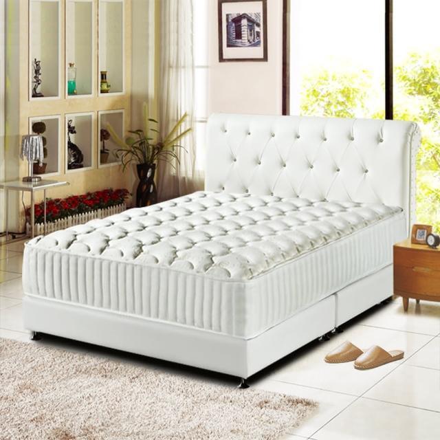 【睡芝寶】最高等級硬式-乳膠獨立筒床墊(雙人5尺)