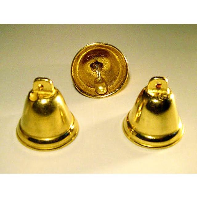 【開運陶源】催財銅鐘 銅製風鈴(附綁紅繩可吊掛.1組-3個)