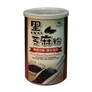 【天然磨坊】黑芝麻粉(400g-罐)