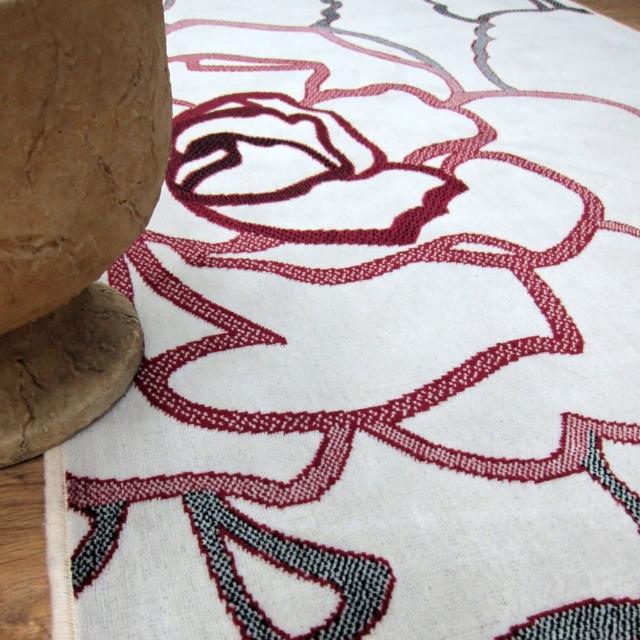 【范登伯格】夏蔓柔光絲質感地毯-玫瑰粉(160x230cm)