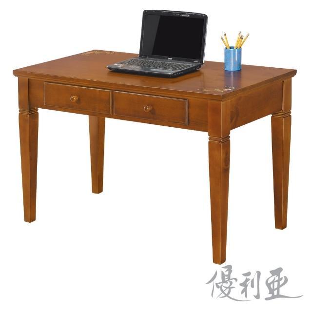 【優利亞-克麗絲彩繪】4尺書桌