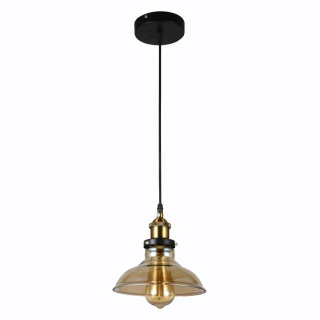 【華燈市】工業風-玻璃吊燈(清透復古風)