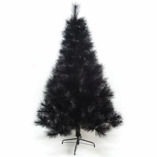 【聖誕樹】台灣製10尺-10呎300cm特級黑色松針葉聖誕樹裸樹-不含飾品-不含燈(.)