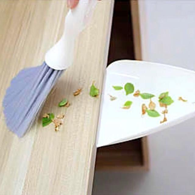 【挪威森林】電腦清潔刷-掃把-畚箕-鍵盤刷-小掃把組-桌上清潔用具-細縫清潔-尼龍長毛刷-汽車清潔刷