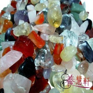 【養慧軒_12H】天然五行水晶碎石(1000公克)