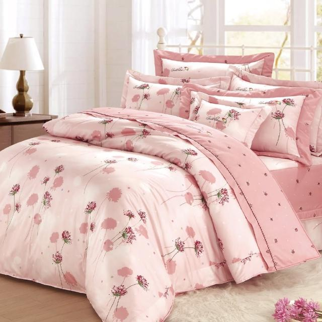 【Arnold Palmer雨傘牌】花語夢境-60紗精梳純棉床罩雙人七件組.