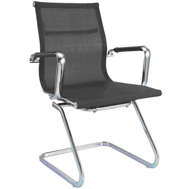 【aaronation愛倫國度】透氣網布辦公椅-會議椅(i-RS904M-B)