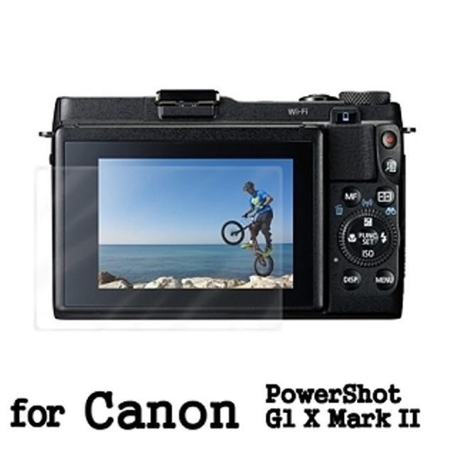 【D&A】Canon PowerShot G1 X Mark II 日本原膜螢幕保護貼(AS高密疏油疏水型)