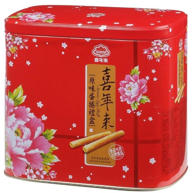 【喜年來】原味蛋捲禮盒512公克(蛋捲)