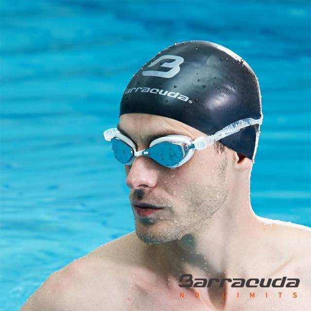 【美國巴洛酷達Barracuda】成人競技抗UV防霧泳鏡(FENIX#72710)