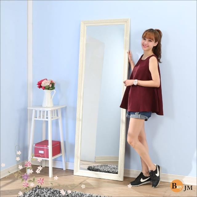 【BuyJM】巴黎情懷立體浮雕穿衣鏡-壁鏡
