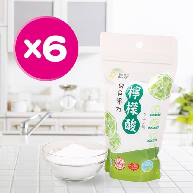 【HIKARI日光生活】白色淨力檸檬酸-6包