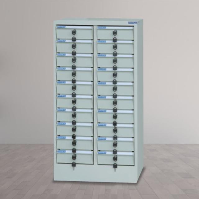 【時尚屋】DF多用途PC存放櫃20格不透明抽(RU5-DF-PC-20N)