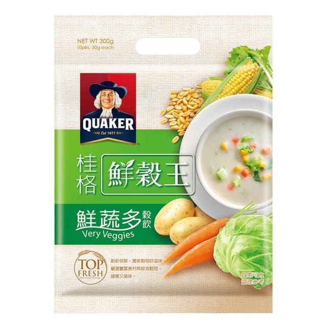 【桂格】桂格鮮穀王-鮮蔬多30g-10入