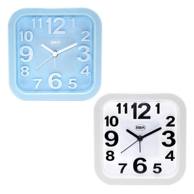 【LIBERTY】大型立體字粉彩靜音鬧鐘(LB-205)