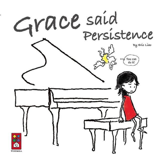 【風車圖書】Grace said Persistence(英文版)