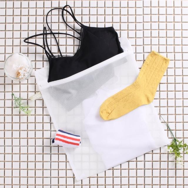 【HIKARI日光生活】原色角型洗衣網袋(小 - 33X38CM)