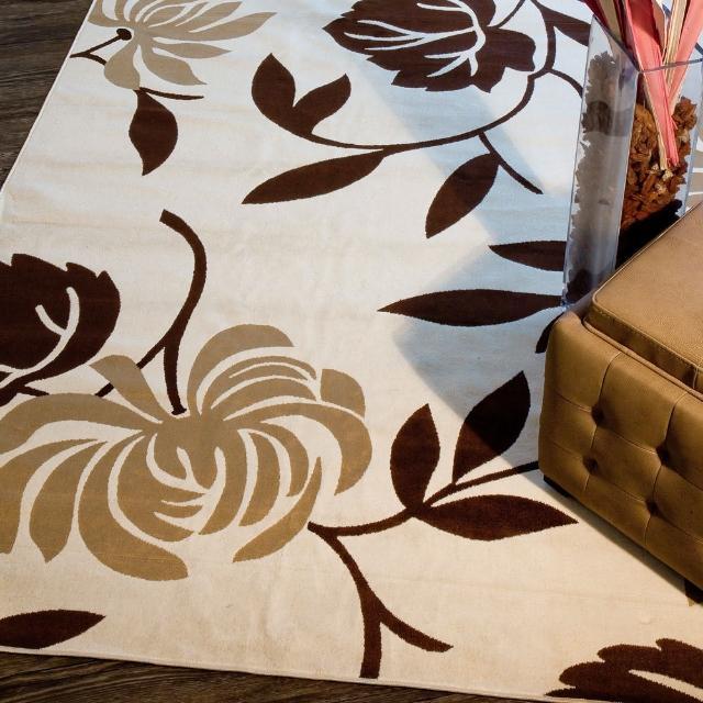 【范登伯格】圓舞曲 柔豔花賞絲質地毯(140x190cm)