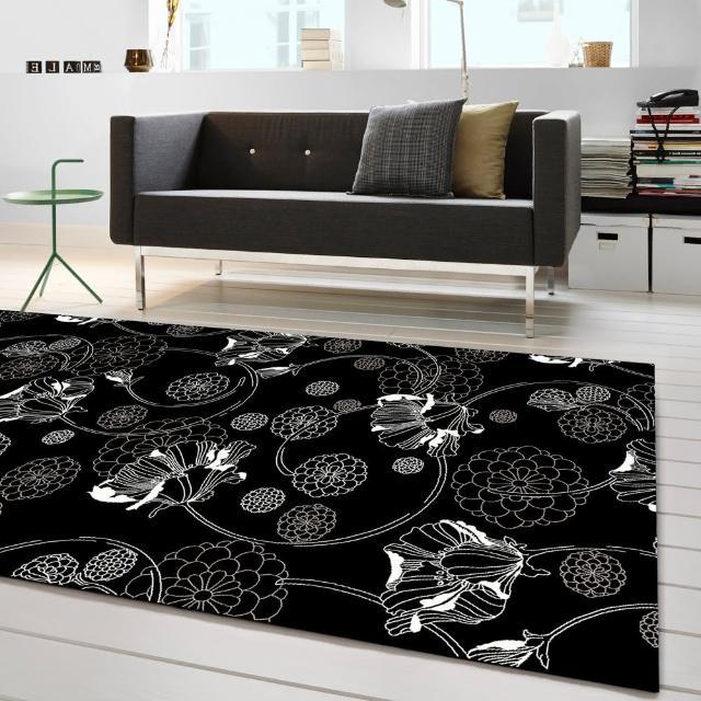 【范登伯格】圓舞曲 百花齊放絲質地毯(140x190cm)