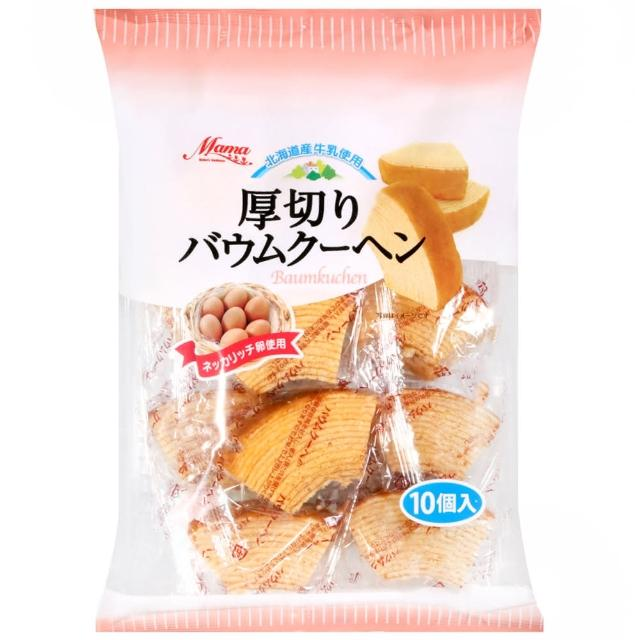 【Marukin】厚切年輪蛋糕(280g)