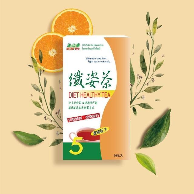 【BIOline星譜生技】沛立康纖姿茶(36包-盒)
