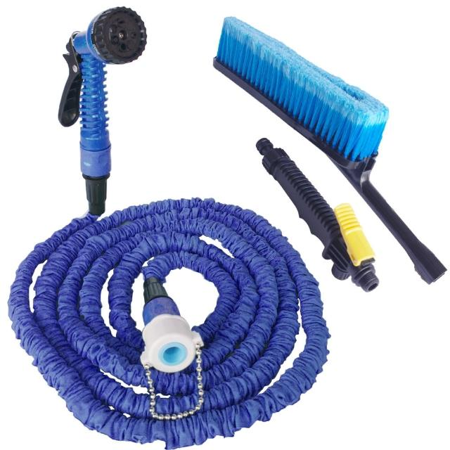 彈力伸縮水管清潔組-汽車清潔組