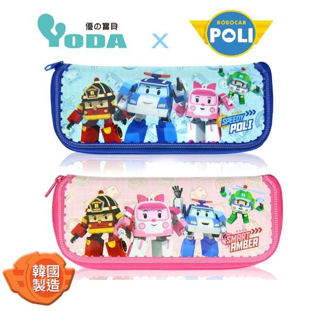 【YoDa】救援小英雄POLI波力餐具收納袋-共兩色可選