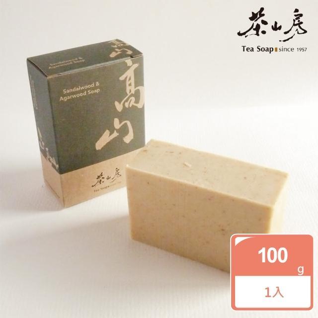 【茶山房手工皂】高山皂(Sandalwood & Agarwood Soap)