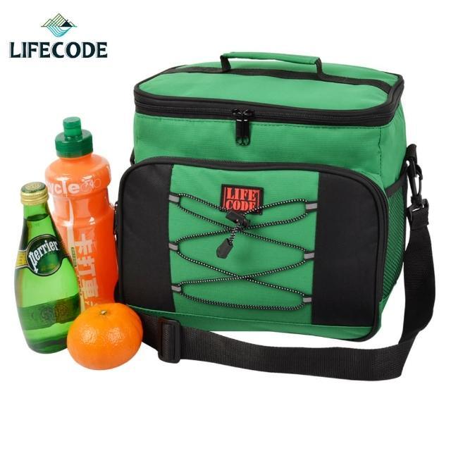 【LIFECODE】歐風保冰袋 -保溫袋-保冷袋(綠色)
