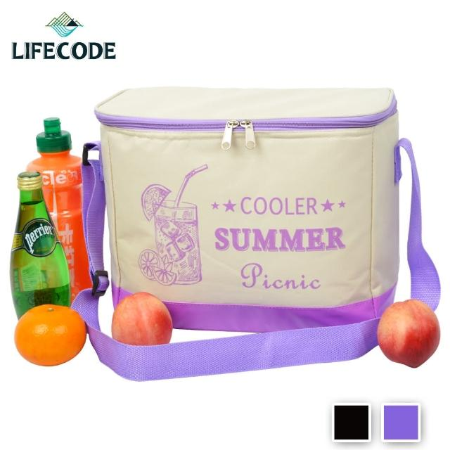 【LIFECODE】COOLER飲料保冰袋-2色可選(10L)