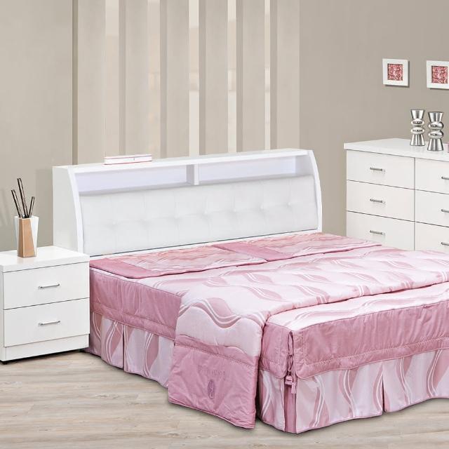 【樂和居】雪花5尺雙人床二件床組(不含床墊)