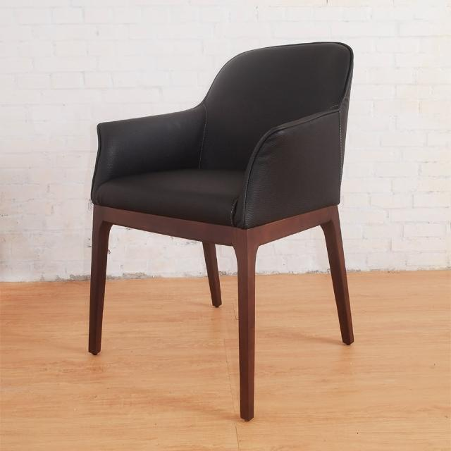 【Bernice】德爾實木餐椅-單椅