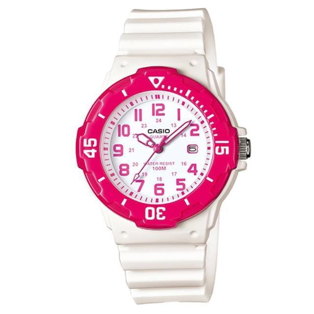 【CASIO】運動潛水風格腕錶(LRW-200H-4B)