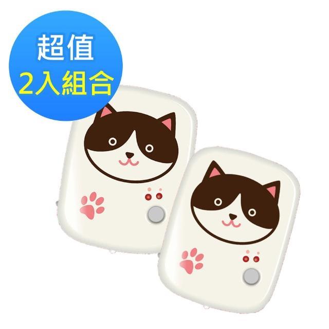 超值兩入組-【勳風】充電式賓士貓暖暖寶 HF-871