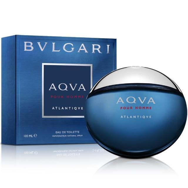 【Bvlgari寶格麗】勁藍水能量男性淡香水(100ml)
