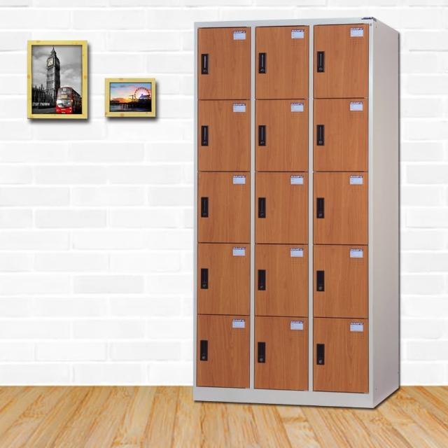 【時尚屋】艾爾頓多用途塑鋼製15格置物櫃 RU6-DF-E5015FF免運費(置物櫃)