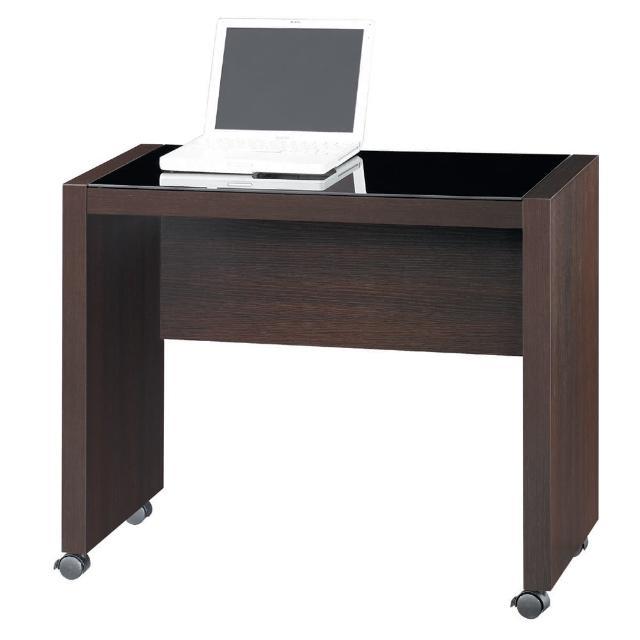【雅博德】胡桃木色活動電腦書桌(工作桌-書桌)